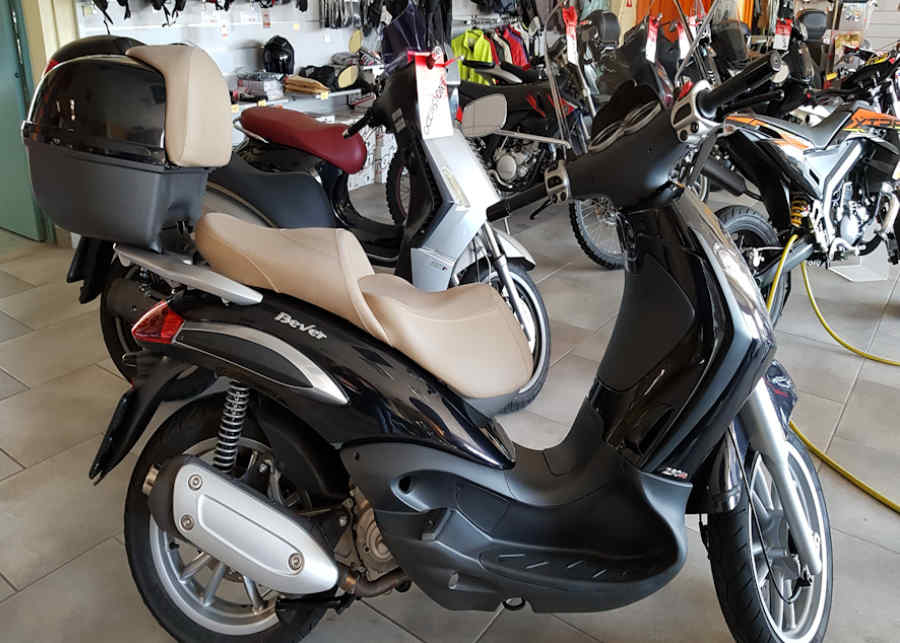scooter usato beverly 250